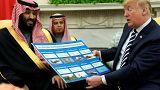 Suudi Arabistan Prensi Muhammed Bin Selman Beyaz Saray'ın konuğu