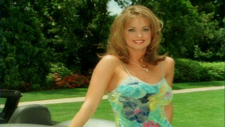 Former Playboy model sues Trump over hush deal