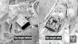 تصاویر رآکتور اتمی سوریه قبل و بعد از حمله هوایی اسرائیل