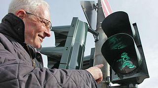 German city installs Karl Marx traffic lights to celebrate philosopher's birthday