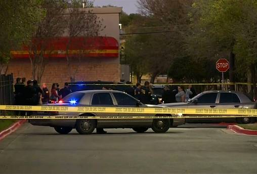 Texas bombings suspect blows himself up near police