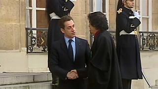 Sarkozy riceve il colonnello Gheddafi all'Eliseo