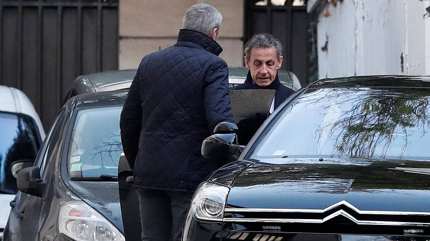 ساركوزي في يومه الثاني من التحقيق بقضية تمويل ليبي