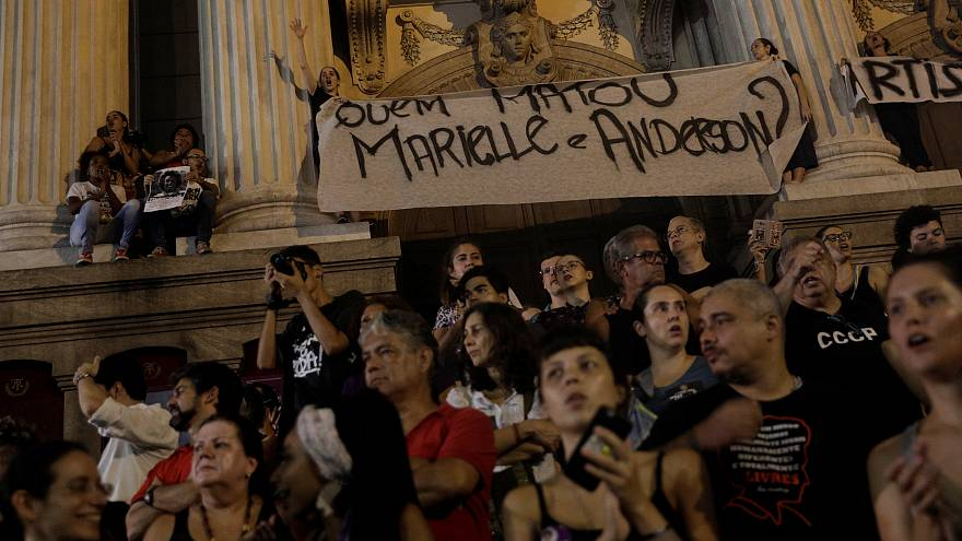 Brazil: Protests over murder of Rio politician