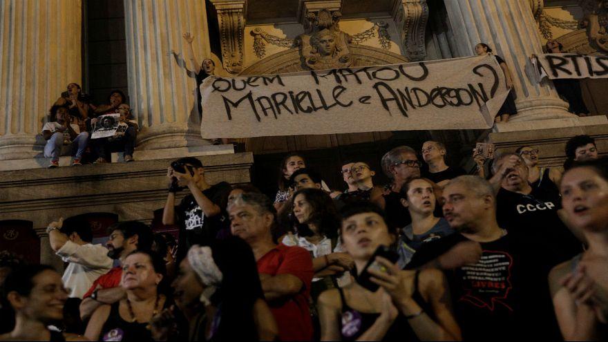 احتجاجات في البرازيل ضد قتل سياسية وحقوقية