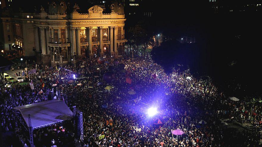 Brezilyalılar Franco için adelet istedi