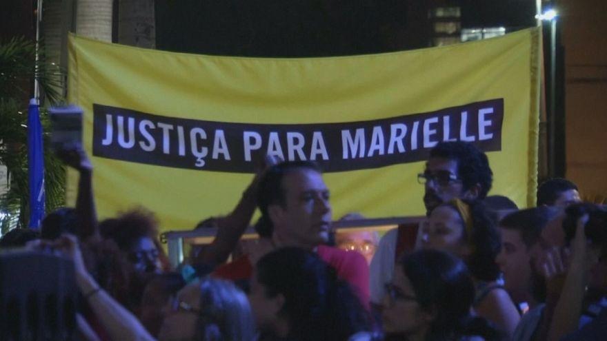 Miles de personas piden justicia en Brasil por el asesinato de Marielle Franco