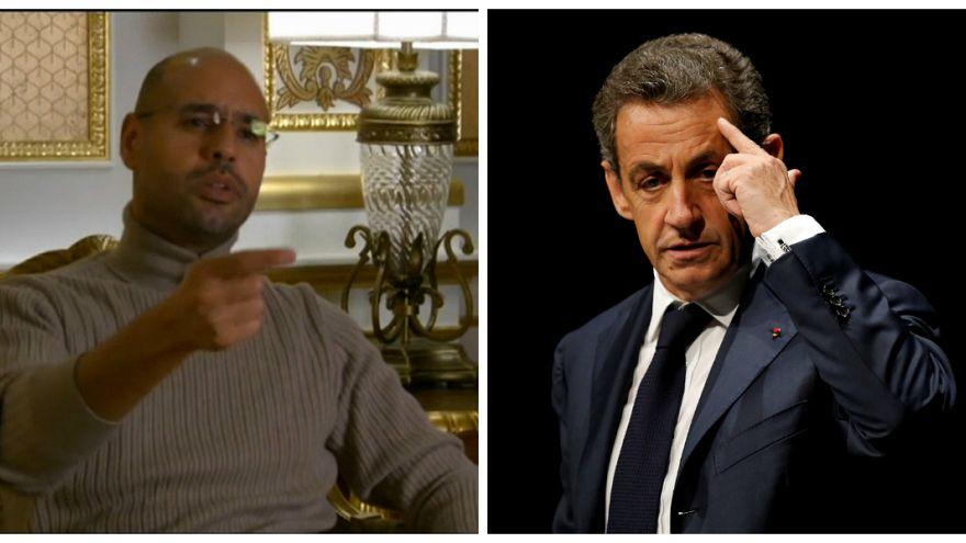 """سيف الإسلام القذافي: """"حبس ساركوزي جاء متأخرا ومستعد للإدلاء بشهادتي خلال محاكمته"""""""