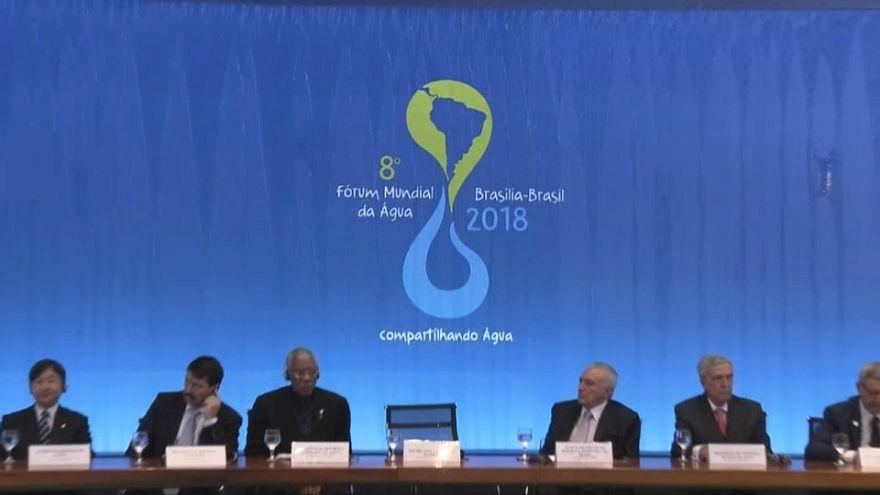 Brasile: al via la seconda giornata di lavori del Forum mondiale sull'Acqua