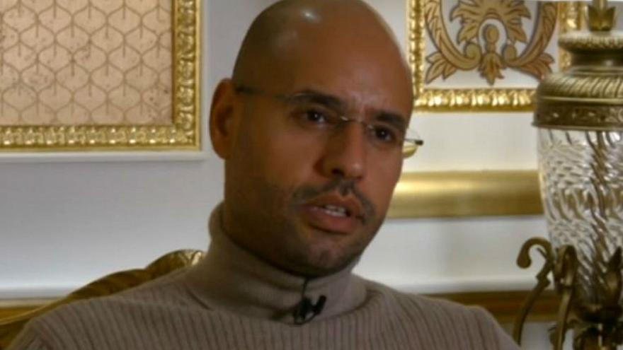 Gaddafi's son offers to give evidence that Libya funded Sarkozy election bid