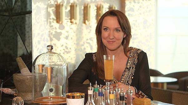 Drinking and eating gold at Dubai's 'seven-star' hotel