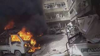 Syrian White Helmets release video of Ghouta destruction