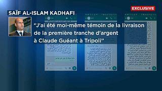 Sarkozy-ügy: Kadhafi fia üzent az Euronewsnak