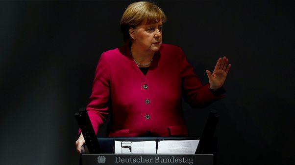 Merkels 4. Regierungserklärung: Deutliche Worte in Richtung Türkei und Russland