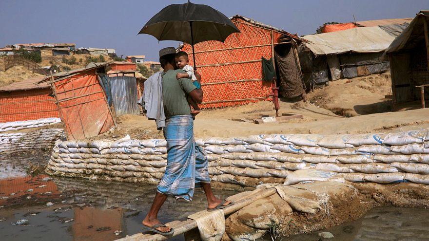 Imagem registada no Bangladesh ilustrativa do Dia Mundial da Água