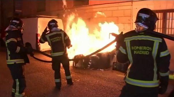 Arden las brasas de la ira en Lavapiés
