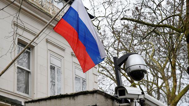 Εξωτερική άποψη του ρωσικού προξενείου στο Λονδίνο