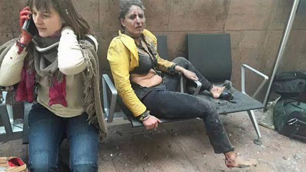 Μια επιζήσασα της τρομοκρατικής επίθεσης στις Βρυξέλλες μίλησε στο euronews