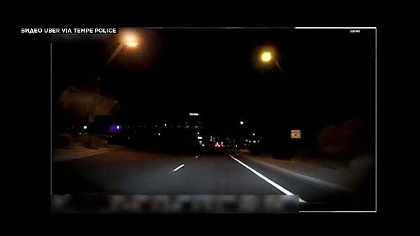 Видео инцидента автомобиля-беспилотника UBER