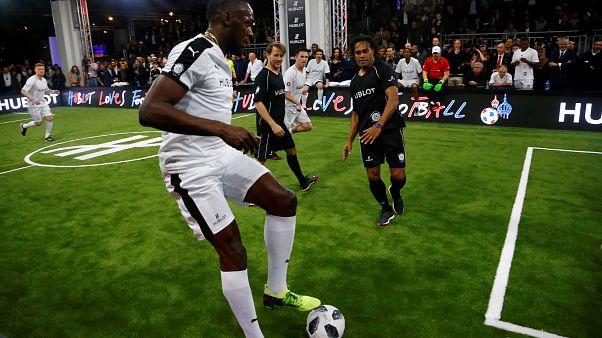 """Usain Bolt trainiert in Dortmund mit: """"BVB, mach dich bereit"""""""