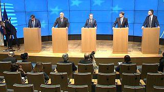 Los líderes de la UE participan en la cumbre de primavera