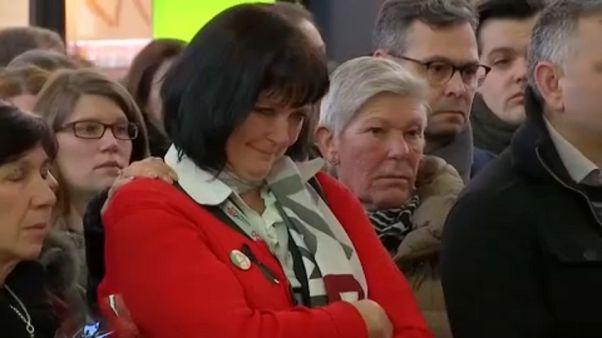 A brüsszeli támadások áldozataira emlékeztek
