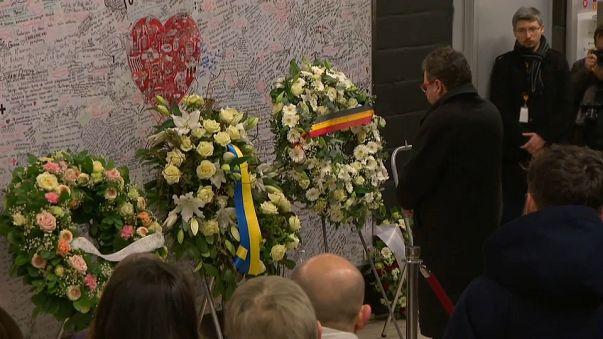 22 mars 2016, Bruxelles se souvient des victimes