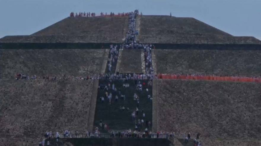 Spring equinox celebrated at ancient sun-worshipping site in Mexico