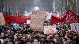 Manifestation fonctionnaires Paris 22 mars 2018.