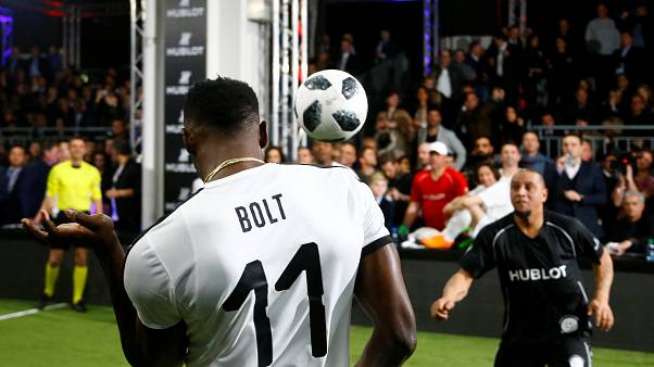 Usain Bolt seeks new challenge in football