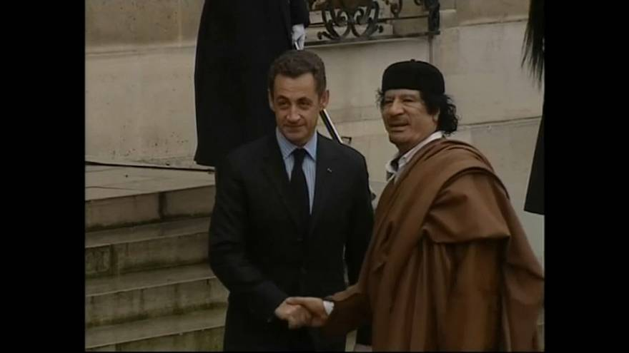 """Sarkozy says he's """"living in hell"""""""