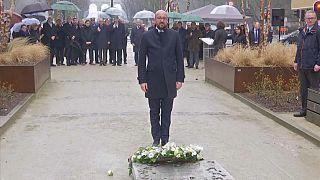 Maelbeek: l'omaggio alle vittime degli attentati del 22 marzo 2016
