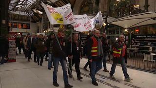 Francia, disagi per lo sciopero dei ferrovieri