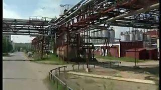 Robbanás egy cseh vegyiüzemben