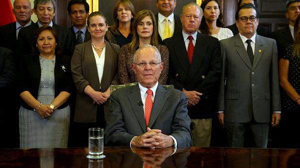 Le président péruvien attend sa destitution