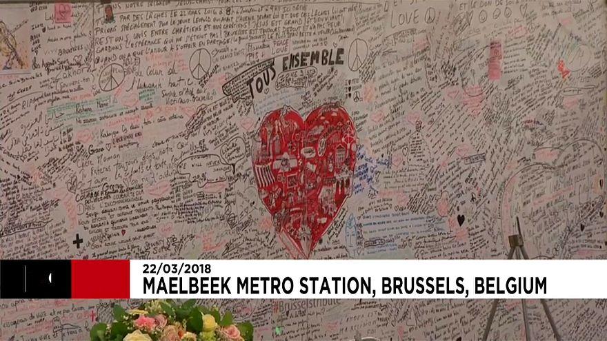 Belçika'da terör kurbanları anıldı