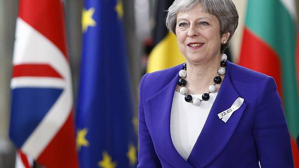 May seeks EU support for UK over 'pattern of Russian aggression'