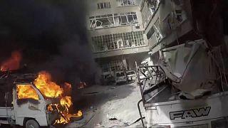 جهنمی بنام غوطه شرقی؛ تصاویری از ویرانی گسترده شهر دوما