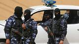 Palestinian security forces loyal to Hamas