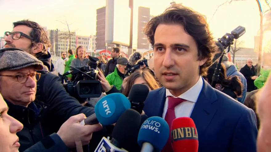 Niederlande: Ein grüner Star (31) und ein neuer Rechtspopulist (35)