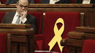 La CUP confirma en el pleno que se abstendrá en la investidura de Jordi Turull
