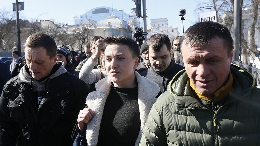 Umsturzversuch? Ukrainische Nationalheldin Sawtschenko verhaftet
