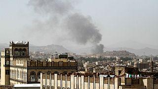 airstrike in Sanaa