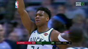 Los Clippers aprovechan la lesión de Antetokounmpo