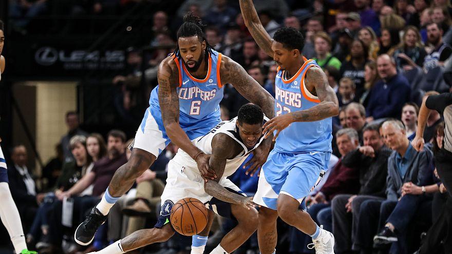 NBA: DeAndre Jordan führt Clippers zum Sieg