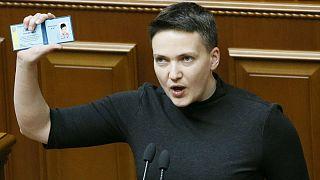 Letartóztatták Nagyija Szavcsenkó ukrán képviselőnőt