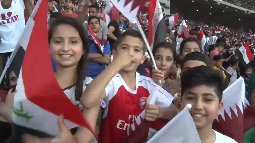 Fußball: Irak darf wieder Länderspiele austragen