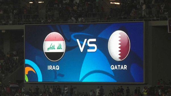 Partido amistoso histórico en Irak