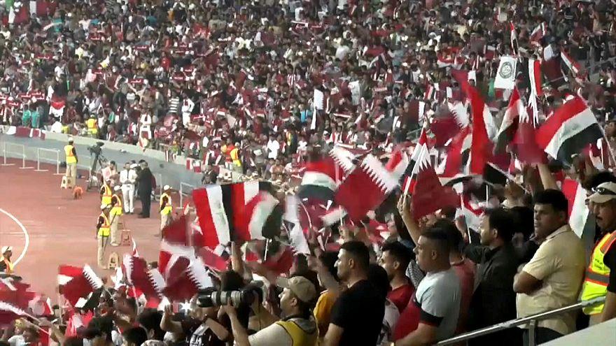 Yıllar sonra ilk defa Irak'ta uluslararası bir futbol turnuvası düzenlendi
