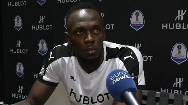 Hussein Bolt is to train with Bundesliga side Borussia Dortmund